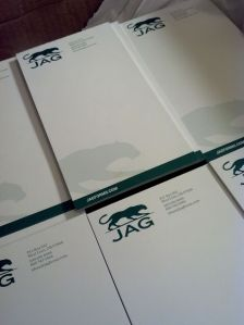 jag notepads