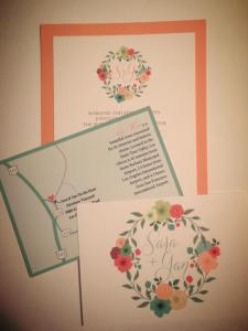 sara beth wedding invites