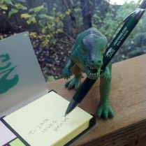 T-Jag loves how well this pen writes!