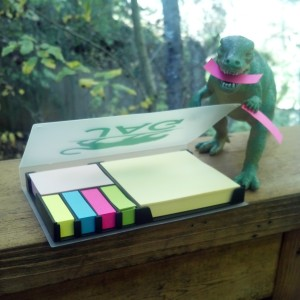 T-Jag thinks Post-It Notes are very useful!