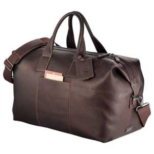 kenneth cole leather duffel