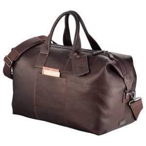 kenneth cole leather duffel